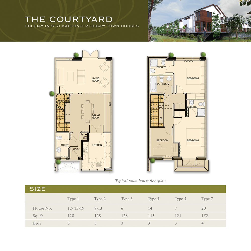 Sheen Falls Courtyard floorplan