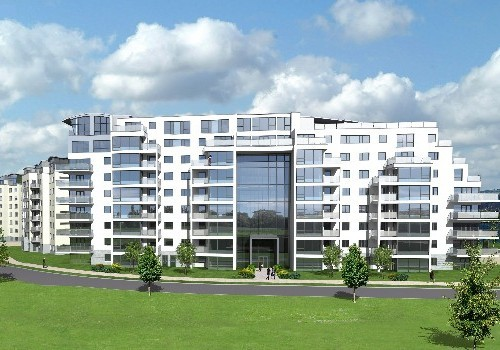 Artists impression of Photograph of Jacobs Island Apartments Block 7
