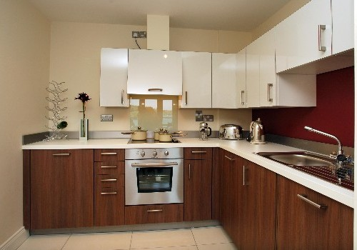 Photograph of Jacobs Island Residential kitchen less angled