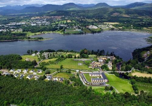 Photograph of Sheen Falls Mountain View Aerial shot