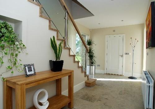 Photograph of Sheen Falls Mountain View hallway wideshot